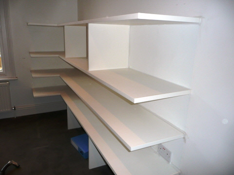 Chiswick-W4 Office Storage Shelves